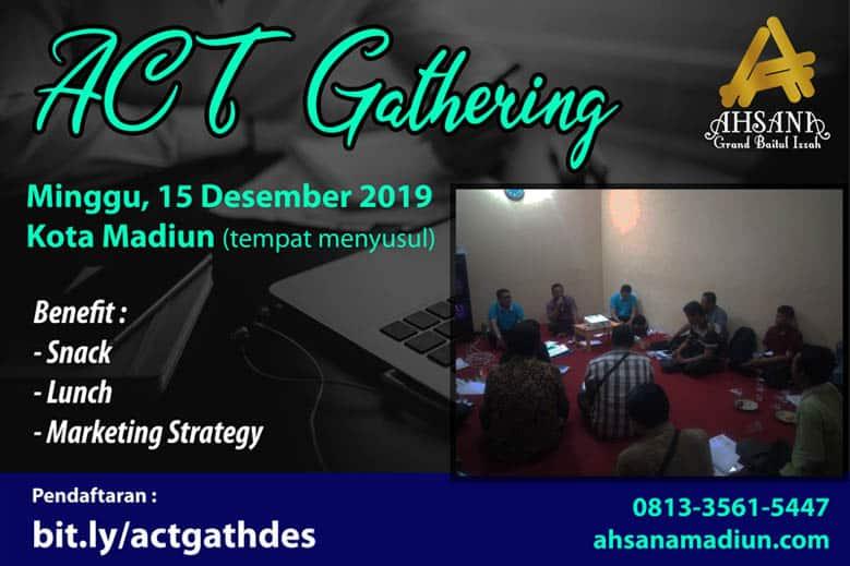 lowongan freeland property syariah ACT Gathering 2019